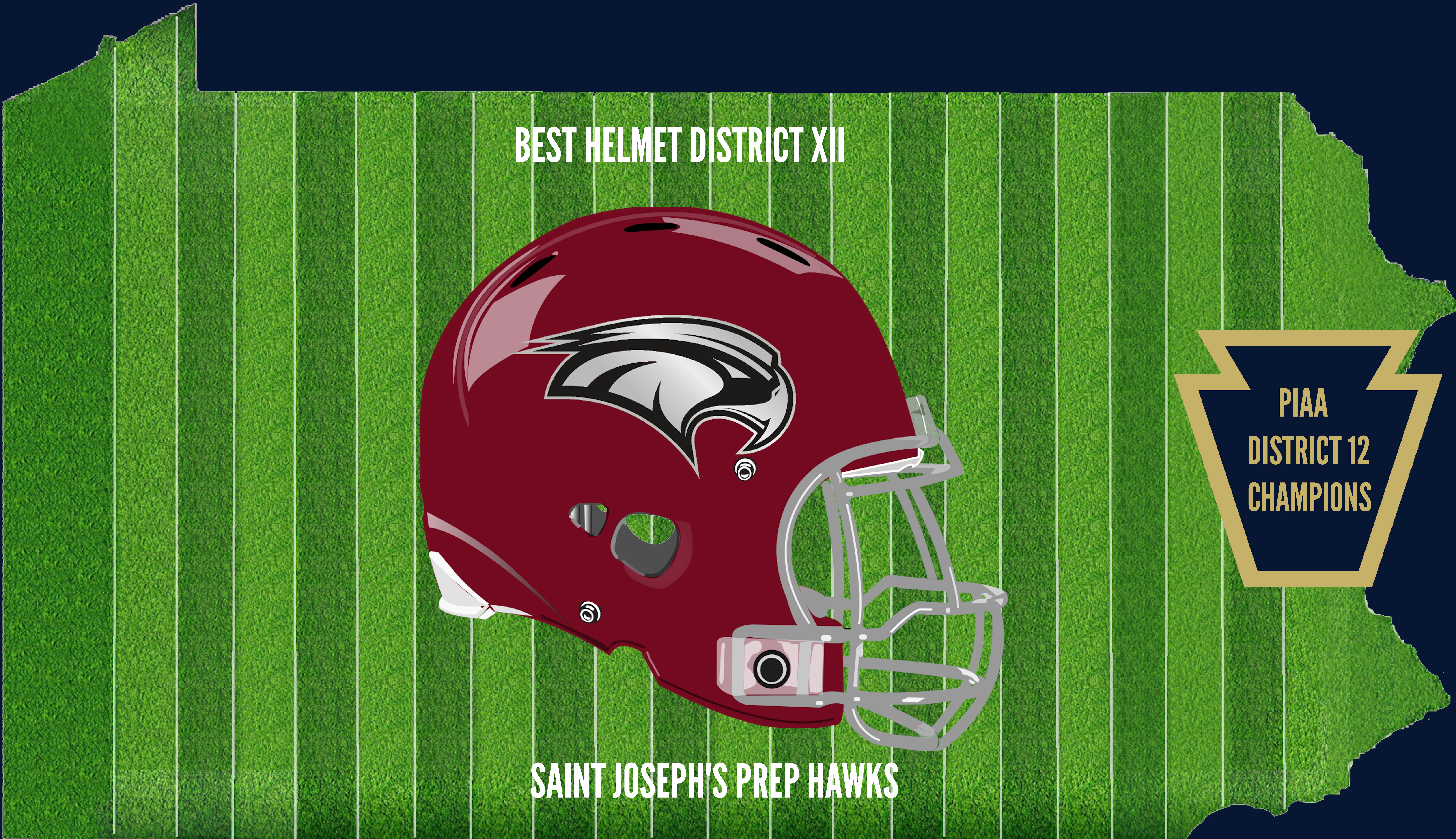 District 12 Champion Helmet