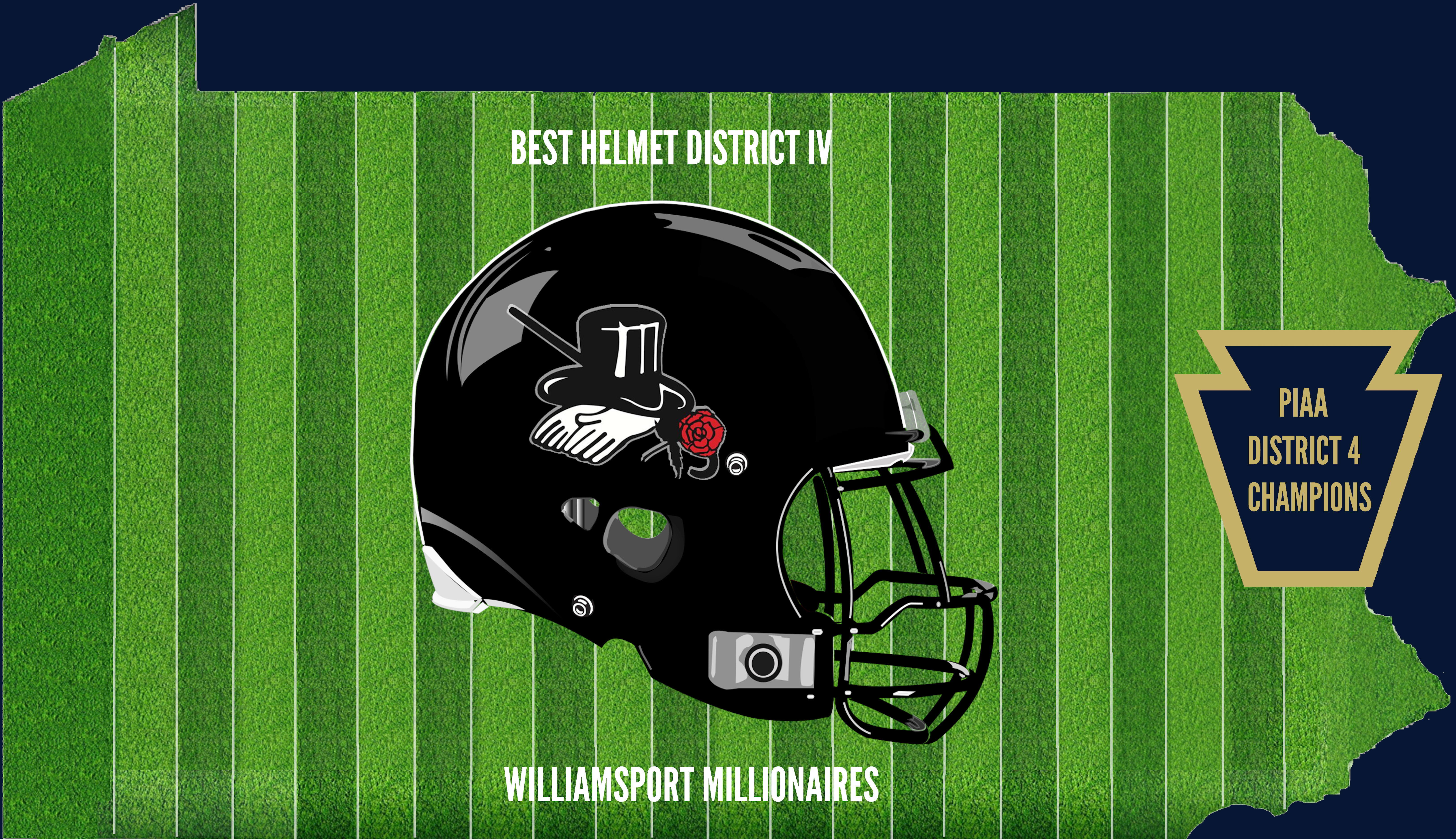 District 4 Champion Helmet