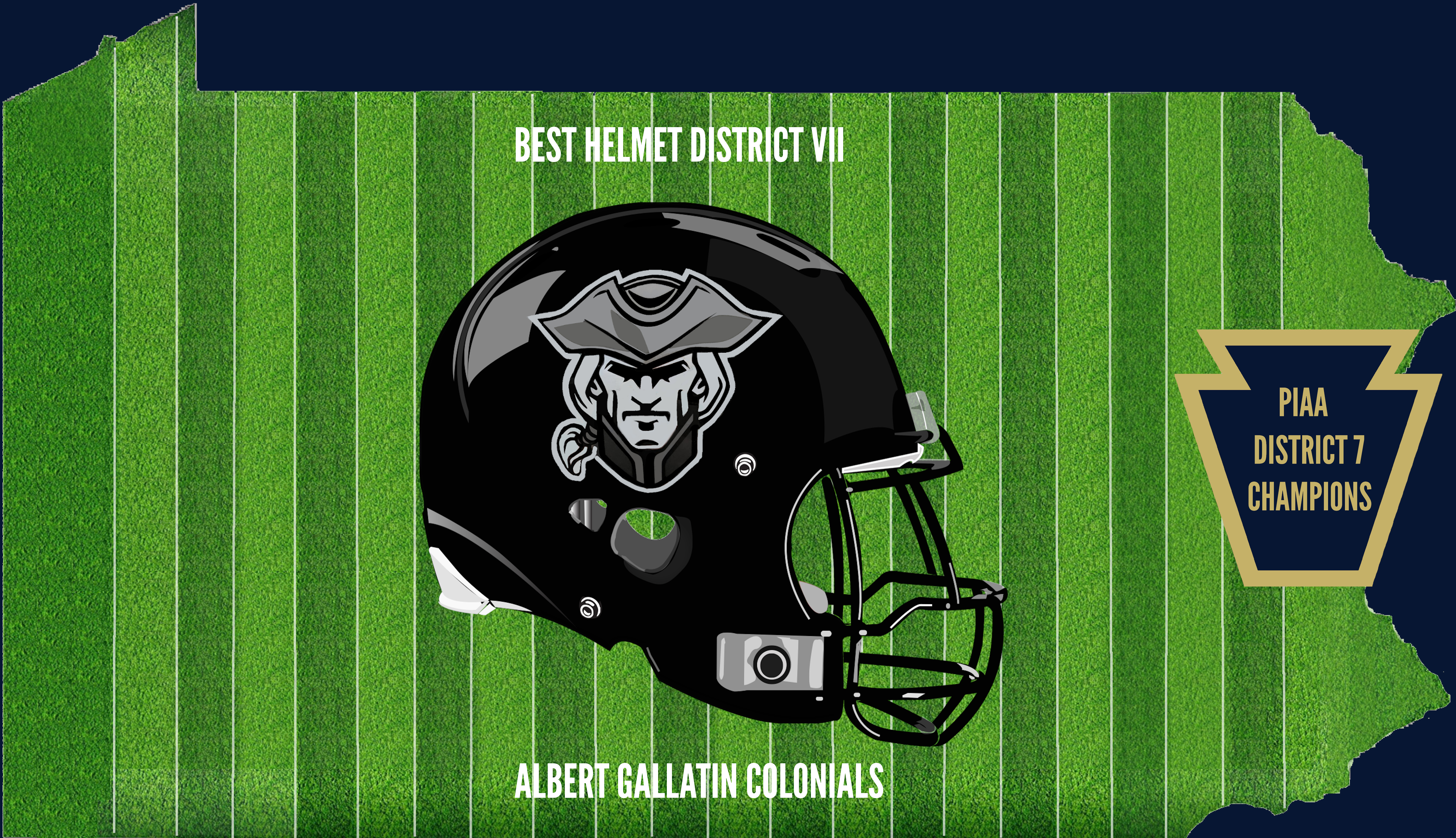 District 7 Champion Helmet